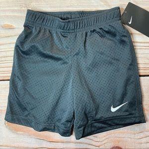 NWT Nike Black Mesh Shorts
